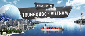 Vận chuyển hàng hóa đường bộ qua cửa khẩu Việt - Trung giá rẻ - uy tín
